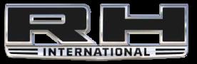 Logotipo de RH International Trucks