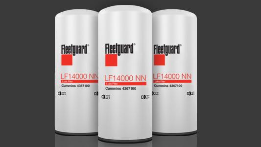 Filtros Fleetguard para camión Internatinonal