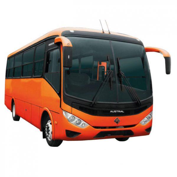 Autobus Bus International 4700 FE en Ecuador, Quito y Guayaquil