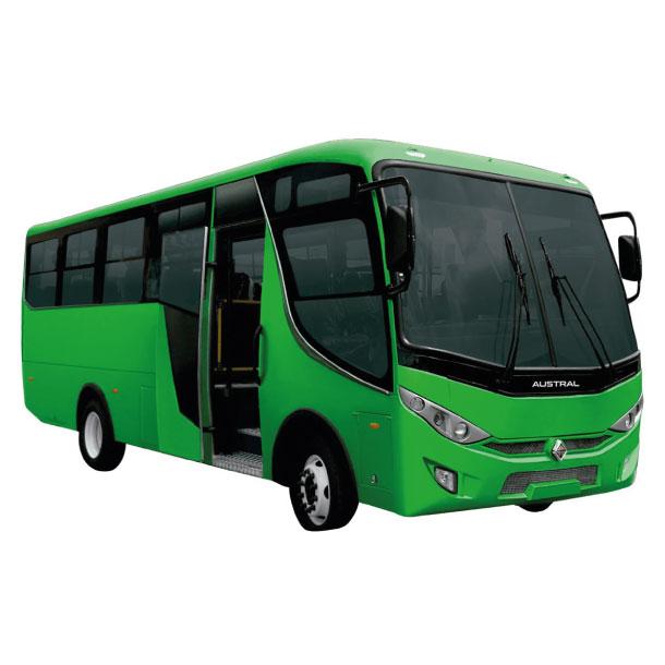 Bus International Midibus en Ecuador, Quito y Guayaquil